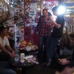 Backstage @ Le Ferrailleur