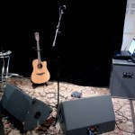 Solo acoustic rehearsal